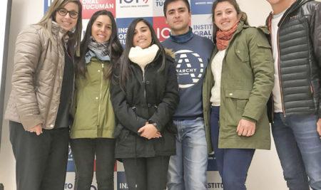 Nos visitó María Solidaria