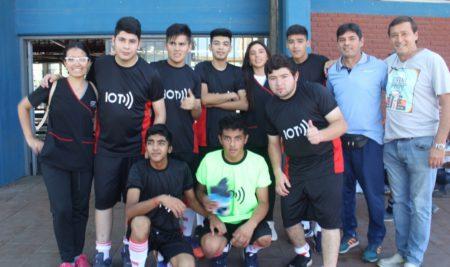 Final del Torneo de Fútbol en el Complejo Belgrano
